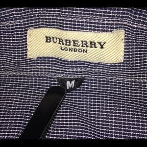 REPOSH - Burberry London formal long sleeve.